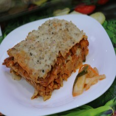 Main Course:  Kimchi Lasagna
